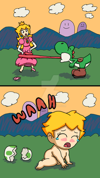 Princess Peach Regression by DKTF