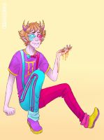 trickster!Sollux by wwhitewwand