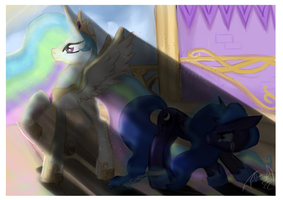 In my sister's shadow by Dueswals