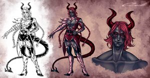 Faust - Lucifer Character Sheet by Meiseki
