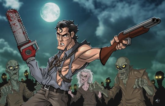 Ash / Army of Darkness / Evil Dead by jayodjick