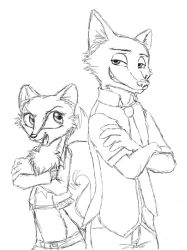 Ginger and Nick by RestlessMuse