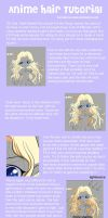 Anime Hair Tutorial by Tetiel