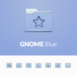 GNOME Blue by 0rAX0