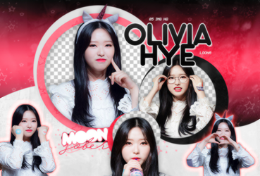 OLIVIA HYE//LOONA-PNGPACK#1 by MoonSober