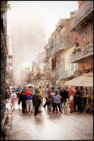 Bourbon Street in the Rain by Ray-Devlin