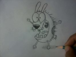 Courage the Cowardly Dog [WIP] by lulitaowo