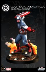 Captain America With Style by mufizal