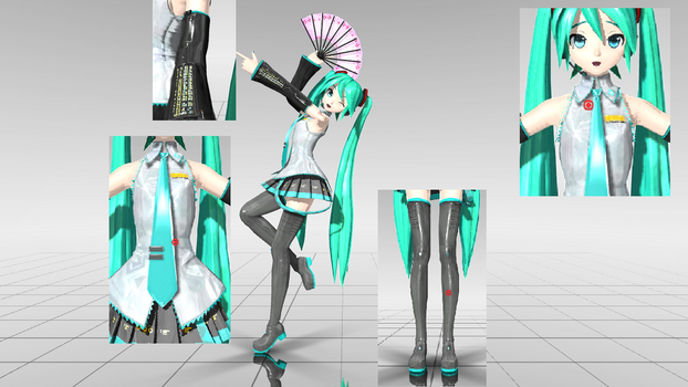 Realistic Dreamy Theater Miku 2 (UPDATE) by KagamineShotaLen