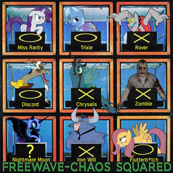 Chaos Squared Album Cover by TheFreewave