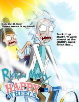 Rick and Morty Happy Wheels! by Misty195