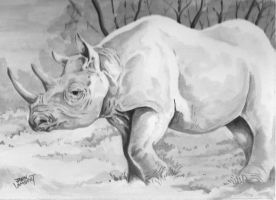 Rhino by Batman4art