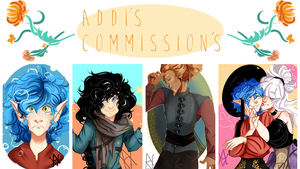 Commissions / OLD SHEET by Dottea