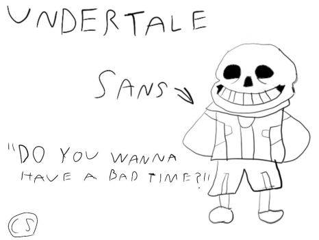 (Undertale) Sans The Skeleton by Sinclair5198