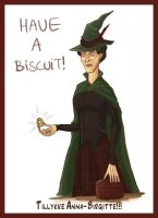 Mcgonagall - Have A Biscuit by idajorsing