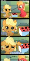 Helping a sis out. by Coltsteelstallion