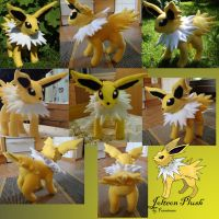 Jolteon plush by Fenrienne