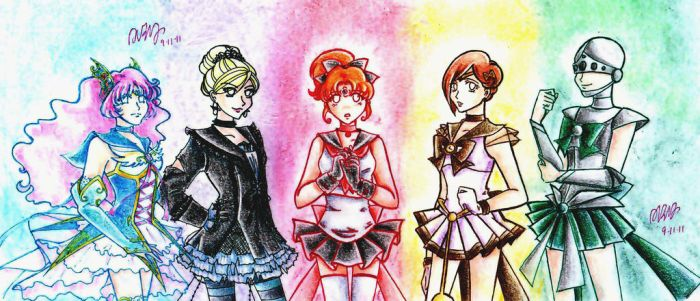 The -Semi- Final Five by thelettergii