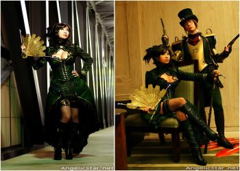 Steampunk with Outland Armour by yayacosplay