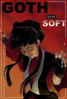 Avatar: Mai, Goth but not Soft by The-Z