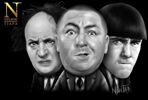The Three Stooges - Los Tres Chiflados by nelsontiapa
