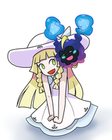 Lillie and Nebby by DirroRonna97