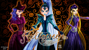 Winx Club - Trix - Happy Halloween! by Feeleam