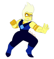 Yellow Jasper (Rough Sketch) by MrChaseComix