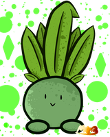 Shiny Oddish Gif! (Has Speedpaint!) by TheDrawingMorgs