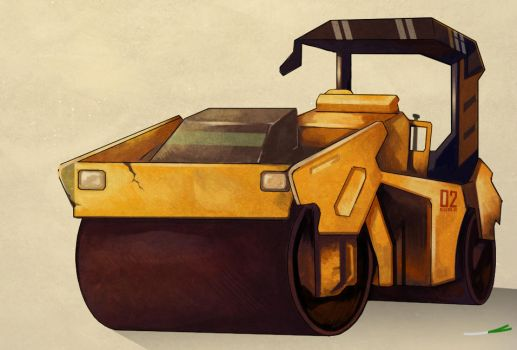 Road Roller by Ethird