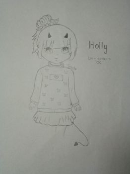 Holly (Uni-colours' OC contest entry) by AfiahSarah27