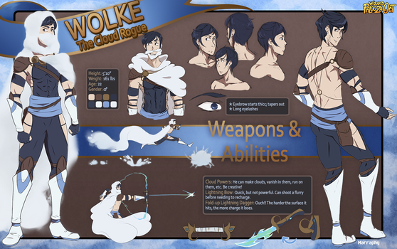 Wolke Character Reference by Marraphy