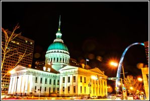 St Louis Courthouse by charlesarcher