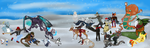 The Great Snowball War by Songdog-StrayFang