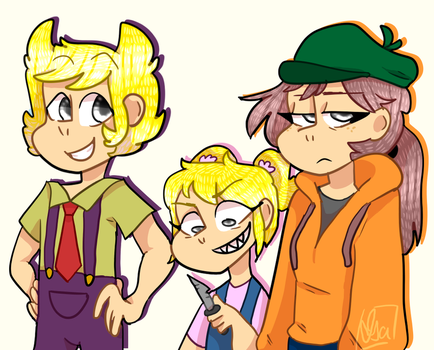 Crash Zoom crew by IsaIsMyName