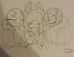 My little ones that make me happy by cutelittlepikakitty