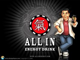 Johnny Chan mascot AIE by designfxpro