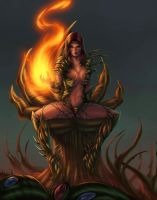 witchblade color 1 by Xenomrph