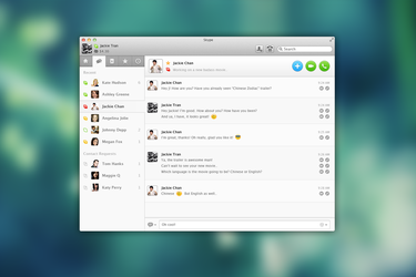 Skype Redesign by JackieTran