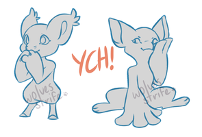[open] bagbean n fornlee ych by wolvesstrife