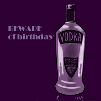 Beware of birthday vodka - Cover by sortimid