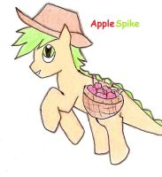 Applespike by fanshipping713