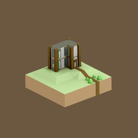 Blender: Isometric House by Gindew