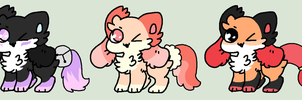 Kittypups adopts 2 CLOSED by bubble-catt