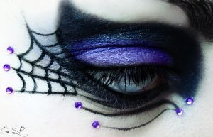 The Witch (Halloween makeup) by Chuchy5