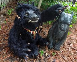 Kelos the Werewolf doll by missmonster