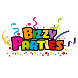 Bizzy Parties Logo by rixlauren