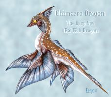 Chimaera Dragon Colored by Kerpow