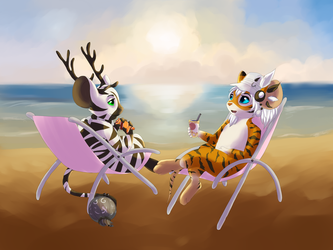 Commission for Wulfielife by tilideer