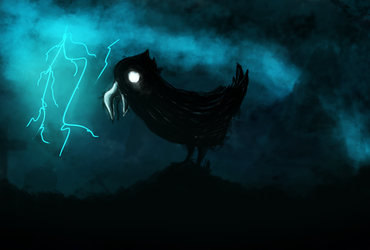 The Crow by interstellarian